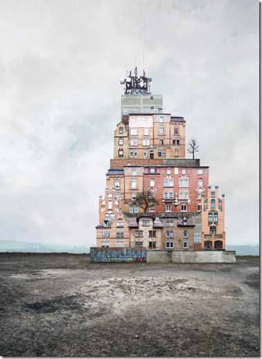 Architecture Surréaliste les collages surréalistes de matthias jung, naissance de rêves