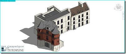 Château de Budé_BIM restauration_AGP