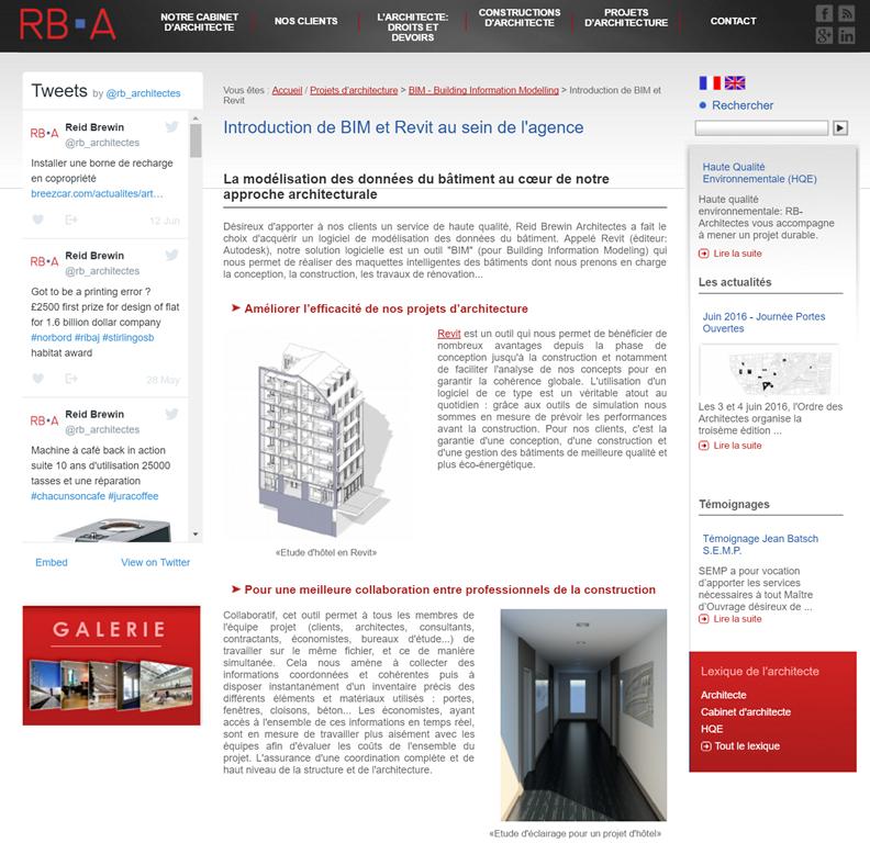 RB A Reid Brewin Architectes Est Une Agence Qui Intervient Sur Lensemble Des Projets Darchitecture De Clients Franais Et Internationaux