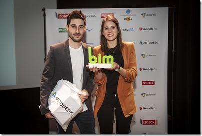Remise de prix du concours BIM 2018
