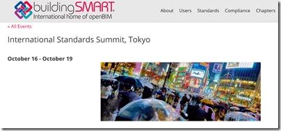 buildingSMART INternational Summit Tokyo Autodesk