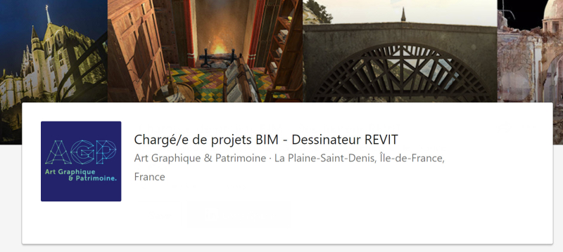 AGP Dessinateur Revit