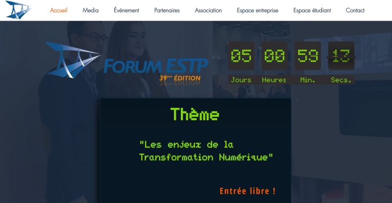 Forum ESTP Recrutement