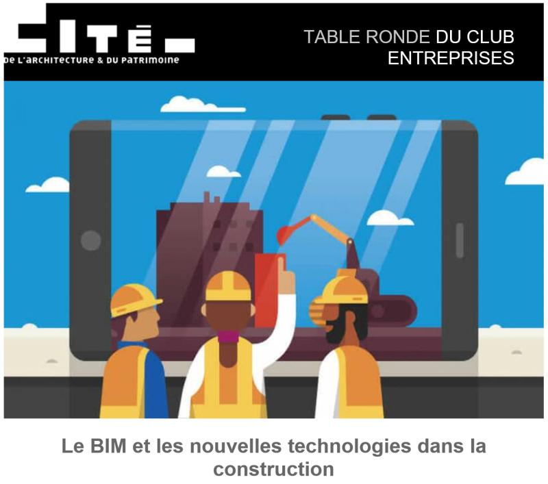BIM et nouvelles technologies cite de l'architecture