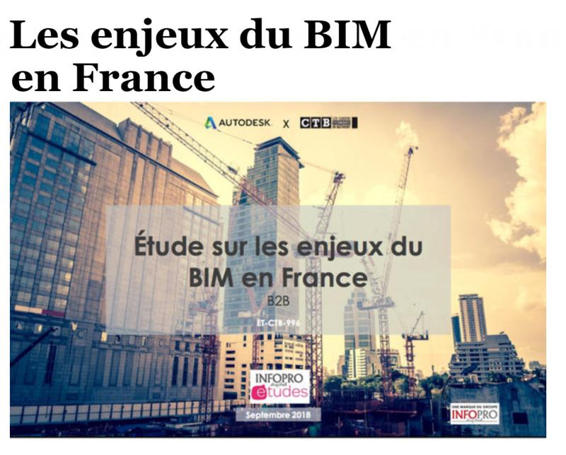 Enjeux BIM en France Autodesk CTB