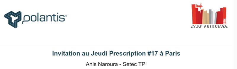 Anis Naroura BIM France Polantis Prescrire