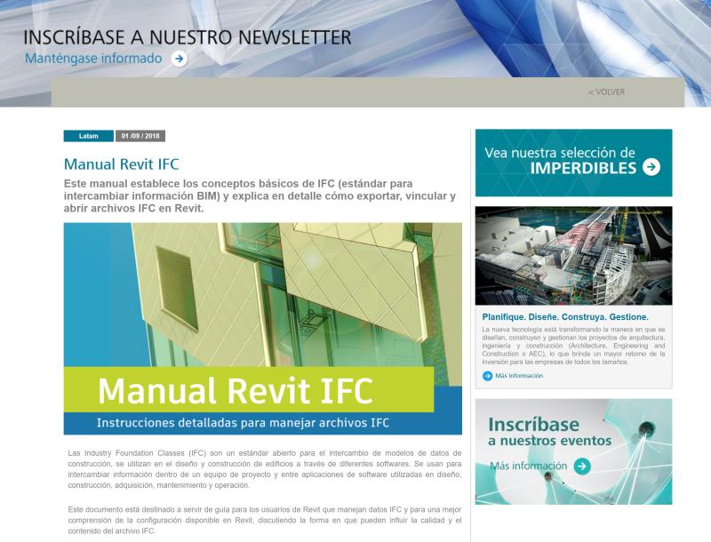 Manual Revit IFC Espanol
