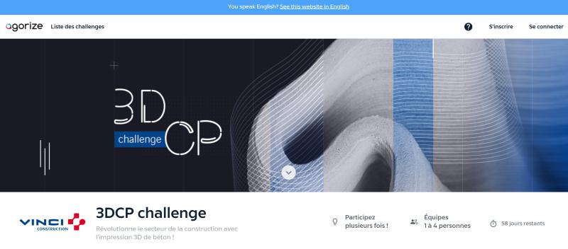 VINCI 3DCP Challenge